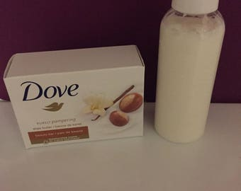 Homemade Dove Shea Body Wash