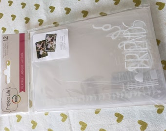 Project Life - Becky Higgins - PLAYFUL Photo Overlays - 12 Pieces Per Package