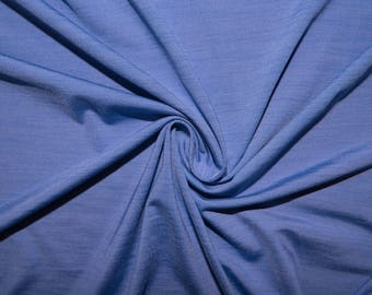 "2 Tone Periwinkle #52 Swimwear Activewear 4 Way Stretch Nylon Spandex Lycra Solid Apparel Cosplay Craft Fabric 56""-58"" Wide By The Yard"