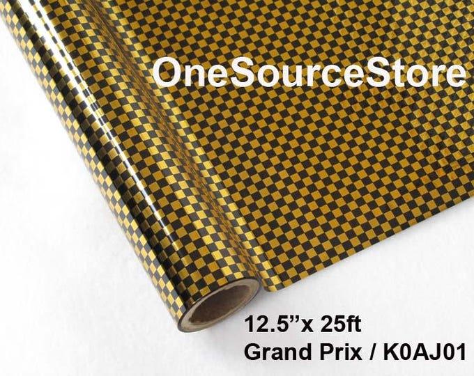"HTV Textile Foil* / 12.5 ""x 25 ft / Grand Prix / KOAJ01"