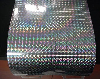 Holographic Prism Sign Vinyl, Free Shipping for USA, Iridescent Vinyl Mosaic Prism