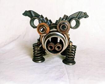 Upcycled Metal Pigasus