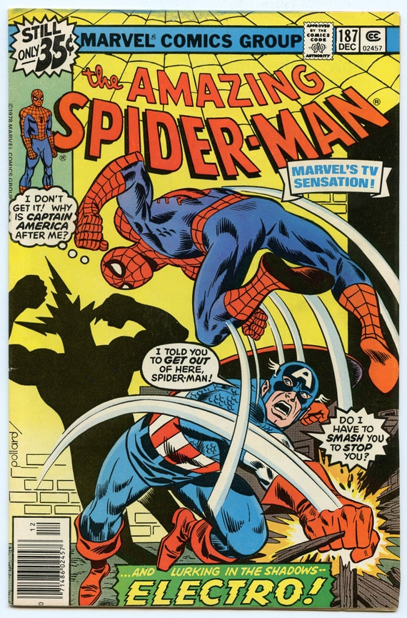 Amazing Spider-man 187 Dec 1978 VF- (7.5)