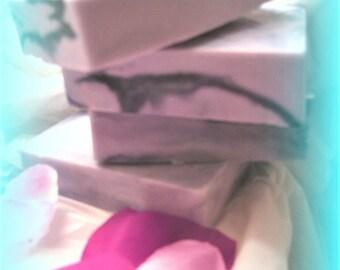 lilac soap, health and beauty, soap, bath and body, glycerin soap, handmade soap, floral soap, artisan soap