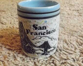 San Fransico Souvenir Cup Trinket California Collectible
