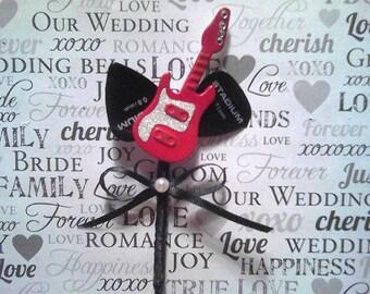 Custom Boutineer Guitar Pin