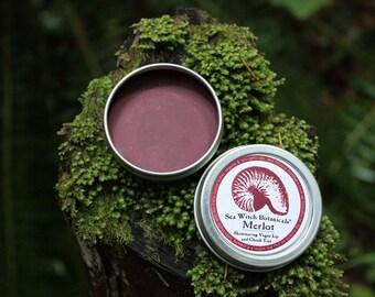 Natural Merlot Cocoa Lip and Cheek Tint~Fair Trade~Non GMO~Organic~Cruelty-Free~No Parabens~No Synthetic Fragrances~No Phthalates