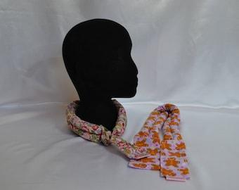 Wheat bag neck ties