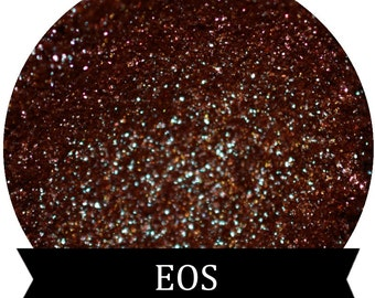 Brown Red Green Blue Duochrome Mineral Eyeshadow Pigment  EOS