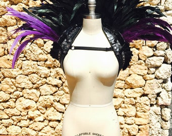 Custom Feather Queen Collar