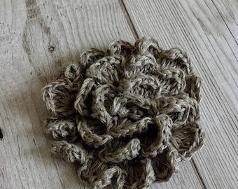 Crochet Flower Brooch - Accessory, Flower, Pin Brooch, Crochet, Fashion Accessory, Gifts For Women, Mother's Day