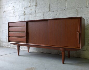 Mid Century Modern DANISH styled CREDENZA media stand