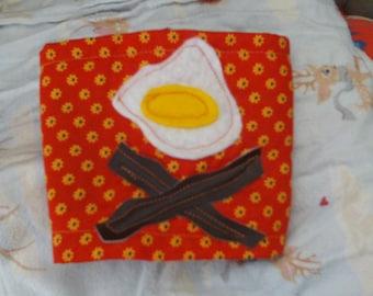 Eggs and Bacon Eco Friendly Coffee Cuff