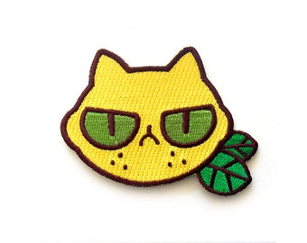 sourpuss embroidered patch