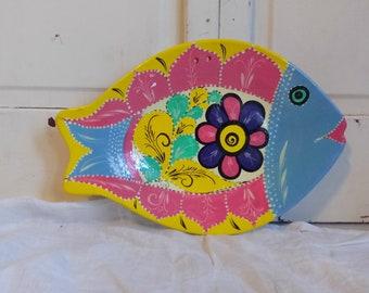 Vintage Decorative Fish Plate