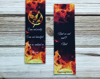 Hunger Games- Bookmark