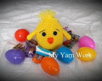 Easter Shaker, Easter, Bunnies, Chick
