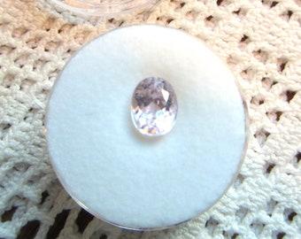 Oval Natural Kunzite Loose Gemstone