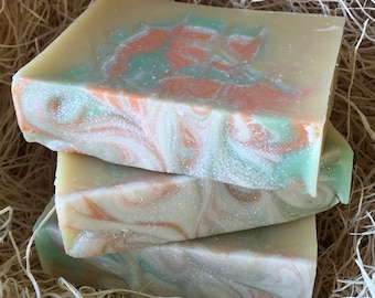 Monkey Business Scent, Handcrafted Soap