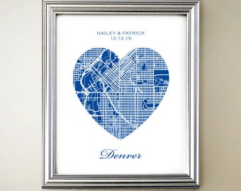 Denver Heart Map