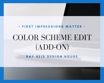Color Scheme Edit | Add-On | Wix Site | Premade Website | Wix Template