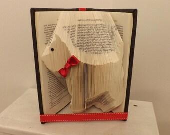 scottie dog book folding origami