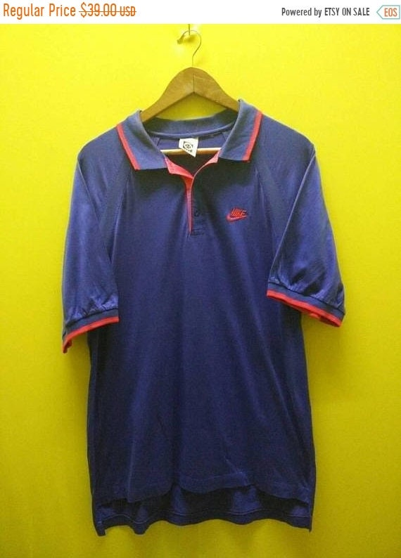 best loved 13408 7c854 On Sale Vintage 90s Nike Challenge Court Andre Agassi Polo