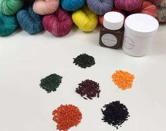 Acid dye granules 50g or 100g, medium concentrated
