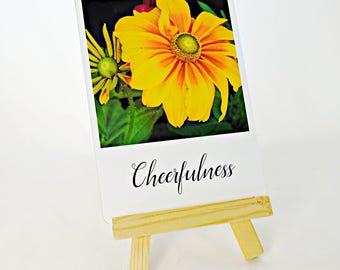 Cheerfulness Inspirational Card- Rudbeckia