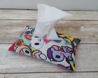 Uniki Travel tissue cover, Accessory Bags, tissue cover. Ju-Ju-Be customs