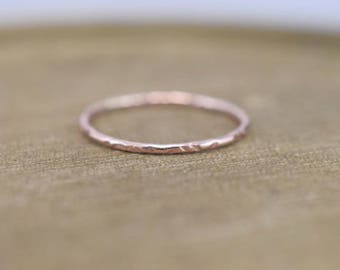 Stacking Ring - Textured