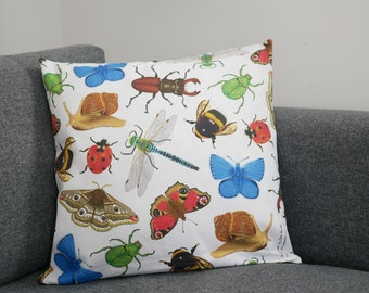 British Insects Cushion Cover