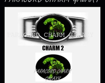 HULK Paracord Bracelet Charm Shoelace Charm Charm 2