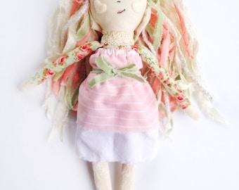 Heirloom Doll // Cloth Doll // Heirlom Doll // Floral
