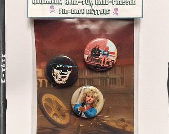 "Night of the Comet - 1"" Button Set"