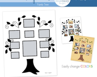16 x 20 Storyboard (Family Tree) - Photographer Resources