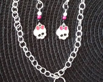 Set Earrings + Necklace MH