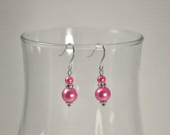 Tickled Pearl Bridesmaid Earrings