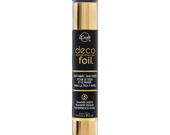 Deco Foil Gold 5/Pkg