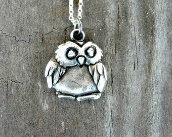 Owl Gifts - Owl Necklace - Owl Jewelry  - Owl Pendant - Graduation Gift