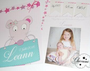 Leann birth announcement