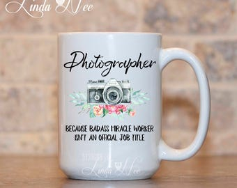 Photographer Mug, Gift for Photographer, Funny Photography Mug, Photographer Quote Mug, Camera, I Shoot Families, Badass Photographer MPH272