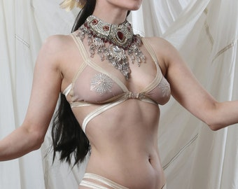 ALL SKIN TONES Art Deco Showgirl Bra