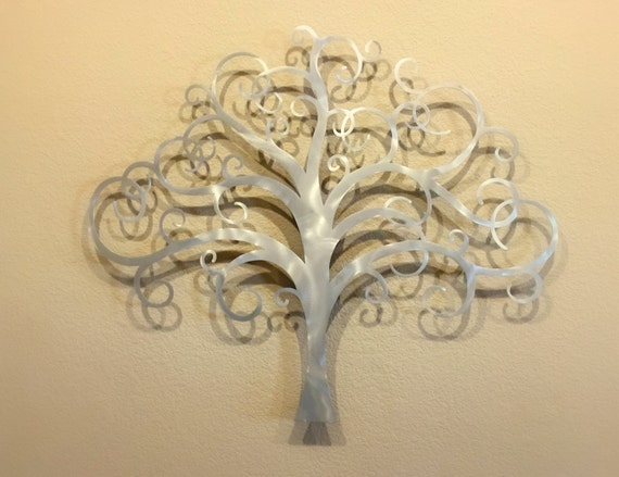 Magnificent Metal Wall Decor Tree Gift - Wall Art Design ...