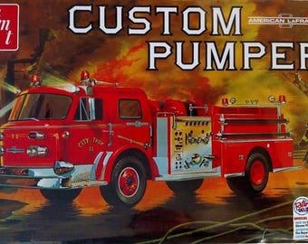 AMT1053 Custom Pumper American LaFrance 1/25 Scale Plastic Model Kit
