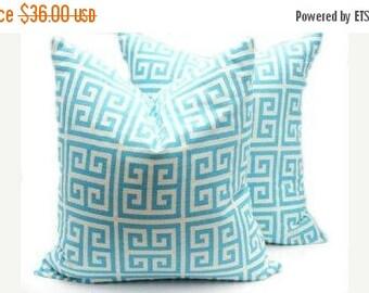 15% Off Sale Pillow Covers - Blue Pillows, Aqua Pillow, Aqua pillow Cover, Linen Pillow, Throw Pillow Covers, Couch Pillow, Decorative Pillo