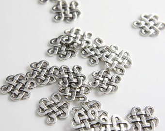30 Pieces Oxidized Silver Tone Base Metal Links-18x14mm (9049Y-P-111A)