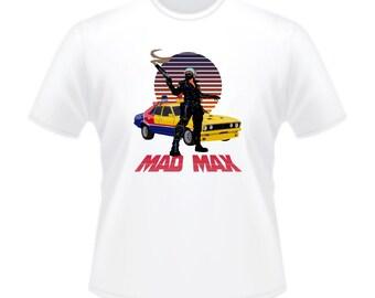Mad Max MFP Main Force Patrol Interceptor Pursuit Car T-Shirt