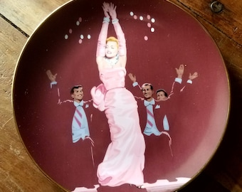 Marilyn Monroe Plate, Gentlemen Prefer Blondes, Marylin Monroe, Vintage Plates, Home Decor