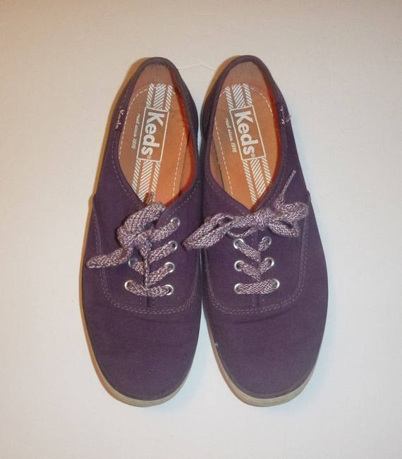 Grape KEDS Runners 35 Size Vintage 5 PURPLE Skater Color Shoes Cute 1990s Shoes Running 90s Classic 5 SNEAKERS Euro 5 Summer Ladies American Aw8wxR